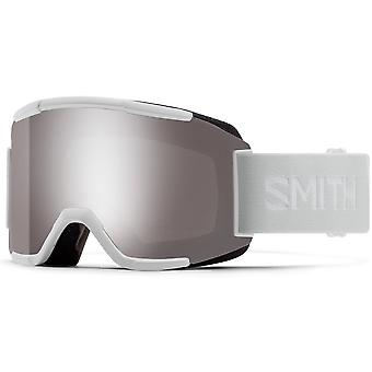 Smith Squad White Vapor - 95T - Sun Platinum Mirror