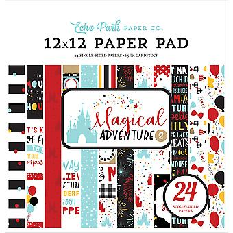 Echo Park Single-Sided Paper Pad 12