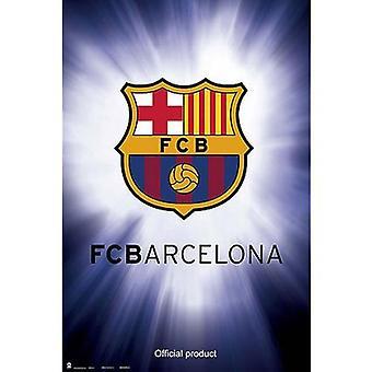 Barcelona affisch Crest 9