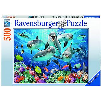 Ravensburger dolfijnen - 500pc puzzel