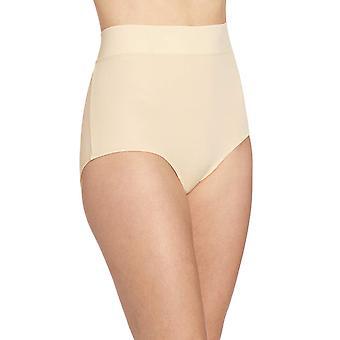 Warner's Women's No Pinching No Problems Modern Brief Panty,, Sand, Size 6.0