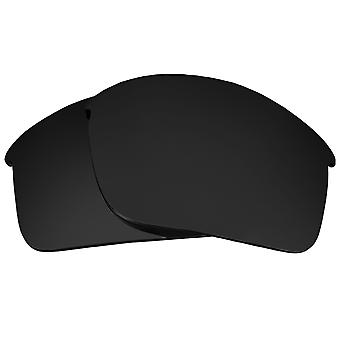 Replacement Lenses for Oakley Bottle Rocket Sunglasses Dark Black Anti-Scratch Anti-Glare UV400 by SeekOptics