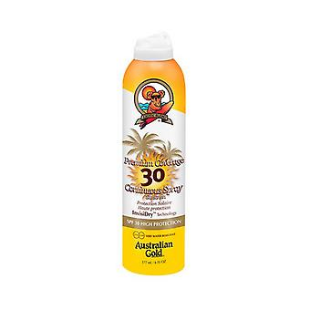 Spray Sun Protector Premium Coverage Australian Gold FpS 30 (177 ml)