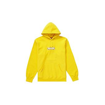 Supreme Bandana Box logo huppari keltainen-vaatetus