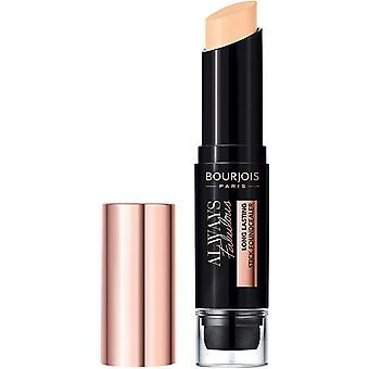 3 x Bourjois Always Fabulous Long Lasting Stick Foundcealer - Choose Shade