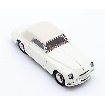 Alfa Romeo 6C 2500 Ghia Closed Roof (1947) Resin Model Car