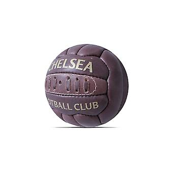Chelsea FC Official Retro Heritage Leather Football