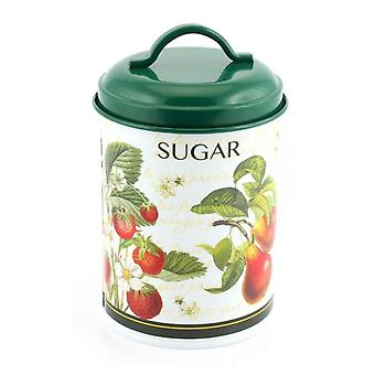 Leonardo Fruit Garden Collection Sugar Canister with Lid & Handle