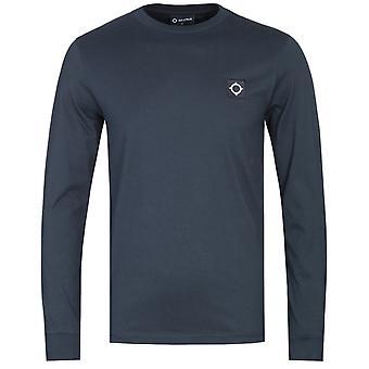 mamma. Strum Long Sleeve Dark Navy ICon T-Shirt