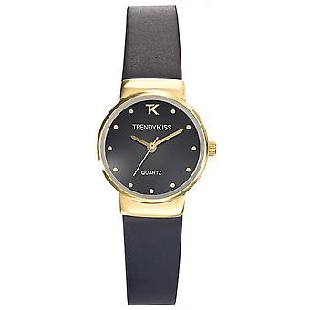 Watch Trendy Kiss TG10065-02 - round leather woman