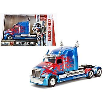 Western Star 5700 Xe Phantom Optimus Prime \Transformers\ Movie 1/24 Diecast Model Car By Jada Metals