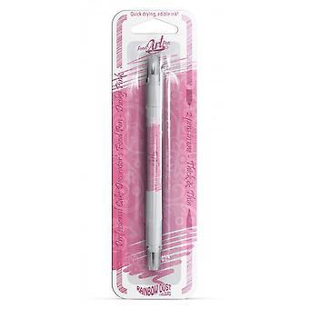 Rainbow Dust Double-Sided Food Pens Edible Food Pen Dusky Pink
