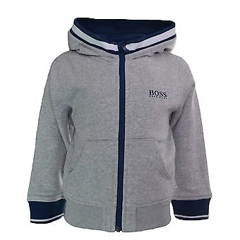 Hugo Boss Boys Hugo Boss Infant Boy's Grey Hooded Jacket