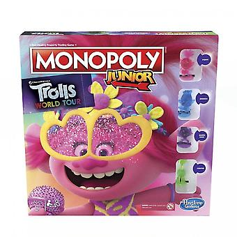 Trolls World Tour Trolls Monopoly Junior Board Game
