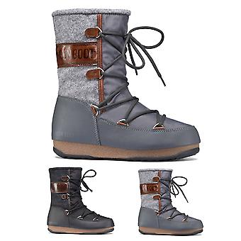 Womens Original Tecnica Moon Boot We Vienna Felt Winter Snow Waterproof Mid Calf Boots