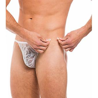 Fizzy clip side thong white