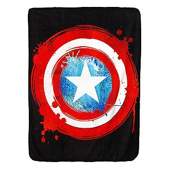 Süper Yumuşak Atar - Kaptan Amerika - Shield Yeni 45x60