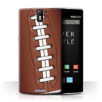 STUFF4 Case/Cover for OnePlus One/American Football/Sports Balls