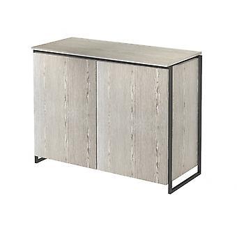 Gillmore Luxe - zwei Tür Sideboard in verschiedenen Eiche Flecken und Rahmen Oberflächen