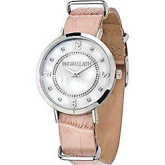 Morellato R0151133508-Versiilla wrist watch for women, analog quartz leather strap
