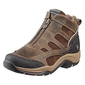 Ariat Terrain Womens H20 Zip Boot - Brown en détresse