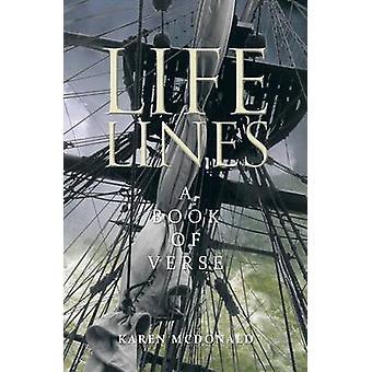 Life Lines A Book of Verse by McDonald & Karen