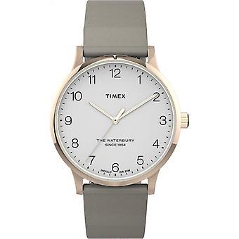 Timex TW2T75000 Waterbury Rose Gold Tone horloge