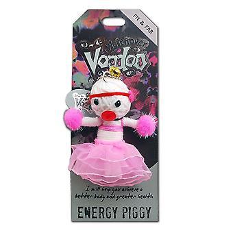 Watchover Voodoo Dolls Energy Piggy Voodoo Keyring