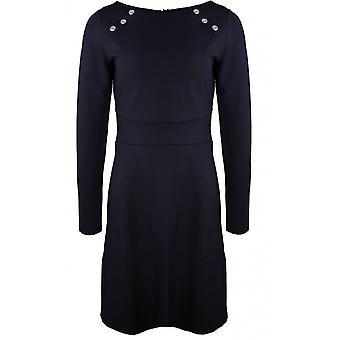 Taifun Black Stud gedetailleerde jurk