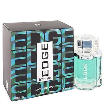 Edge Intense Eau De Toilette Spray By Swiss Arabian 3.4 oz Eau De Toilette Spray