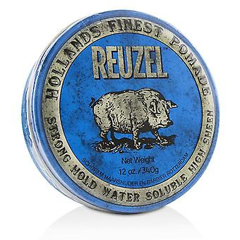 Reuzel Blue Pomade (Strong Hold, Water Soluble) 340g/12oz
