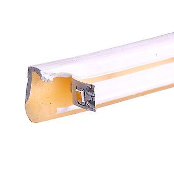 Jandei Tira LED NEON flexible 25m, Color luz Blanco Cálido 3000K 12VDC 8 * 16mm, corte 2,5cm, 120 led/m SMD2835, decoración, formas, cartel led