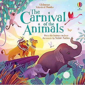 O Carnaval dos Animais por Fiona Watt - 9781474968041 Livro