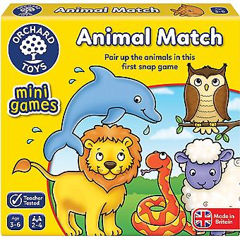 Orchard Toys Mini Game Animal Match