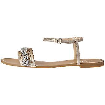Jewel by Badgley Mischka Women's Kimora Flat Sandal
