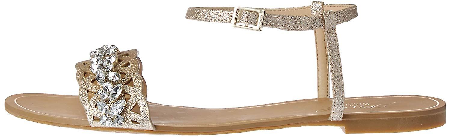 Jewel by Badgley Mischka Women's Kimora Flat Sandal nVpyT