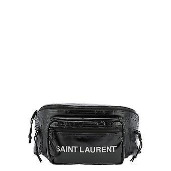 Saint Laurent 581375ho21z1054 Men's Bolsa de Nylon Negro