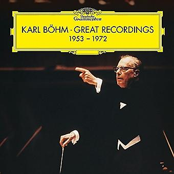 Karl Bohm-Karl Bohm Great Reco [CD] USA import