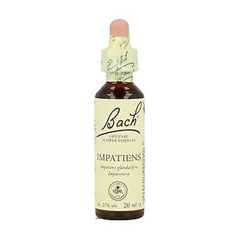 Bach Flower Essences 18 - Impatients 20 ml of floral elixir