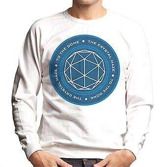 Crystal Maze logo menn ' s Pullover