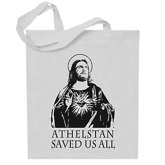 Athelstan Saves Us All Vikings Totebag