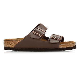 Birkenstock ruskeat Arizona Birko-Flor sandaalit