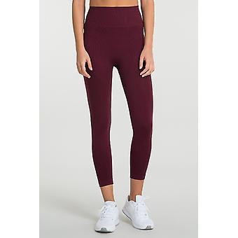 Jerf   Womens Gela   Maroon   Seamless Active leggings