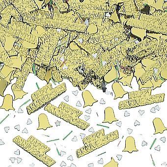 Amscan 黄金周年紙吹雪