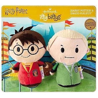 Hallmark Itty Bittys Harry Potter Zwerkbal Pair Harry en Draco Special Us Edition Set