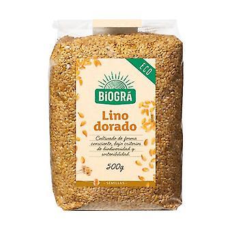 Organic Golden Flax Seeds 500 g