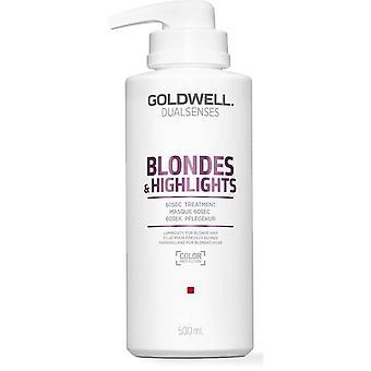 Goldwell dualsenses Blondit & Koho kohdat 60sec. hoito 500ml