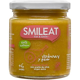 SMILEAT Turkey Pot with Organic Vegetables 230 gr