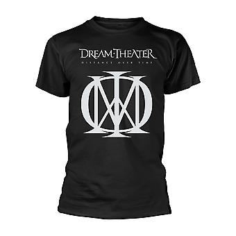 Dream Theater avstand over tid (logo) offisiell t-skjorte unisex
