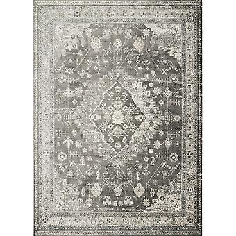 "Griffin Charcoal - 1'-6"" X 1'-6"" Sample Swatch Rug"